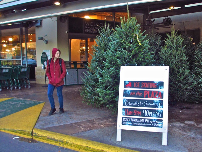 Ice Skating on the Plaza @ Whole Foods