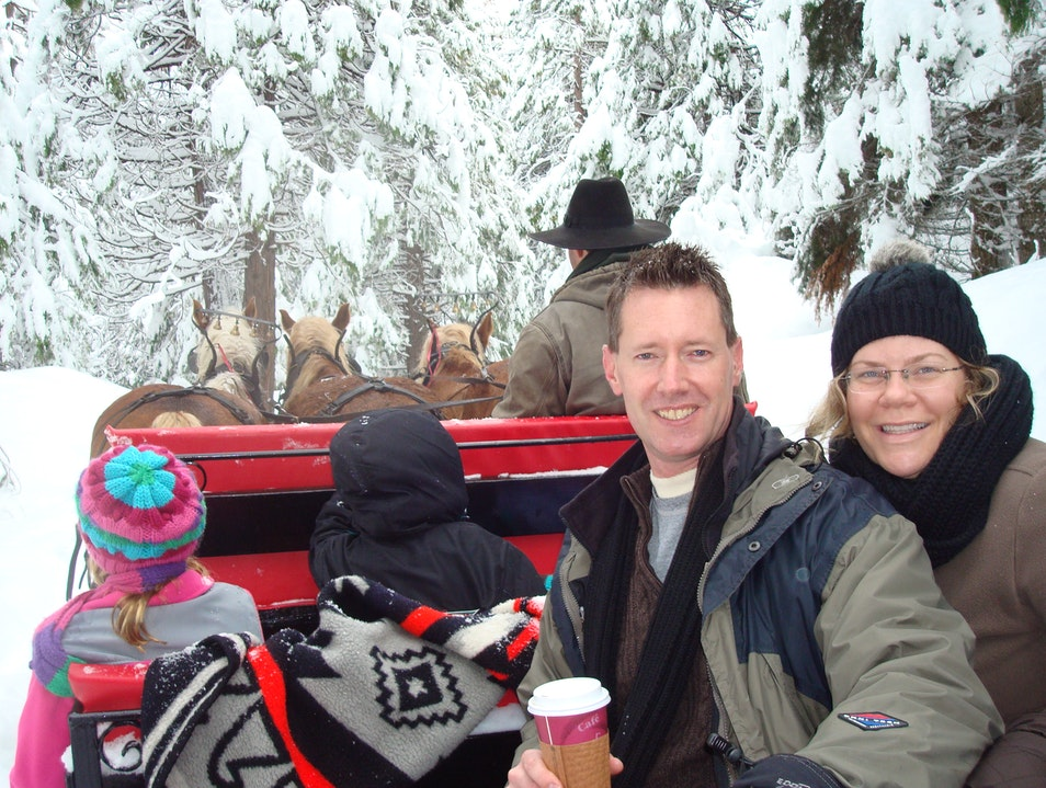 Sleigh Ride Yosemite National Park California United States