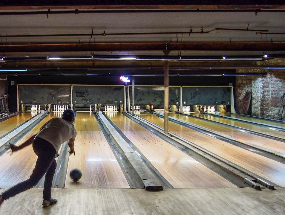 Bowl and drink in Brooklyn  New York New York United States