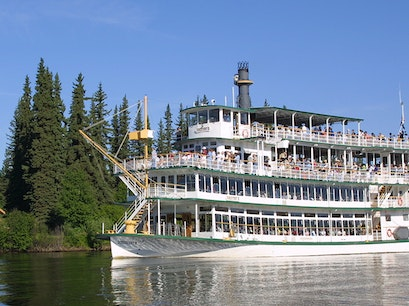 Riverboat Discovery Fairbanks Alaska United States