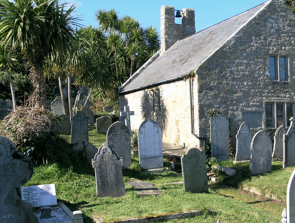 St. Mary's Old Town Church Isles Of Scilly  United Kingdom
