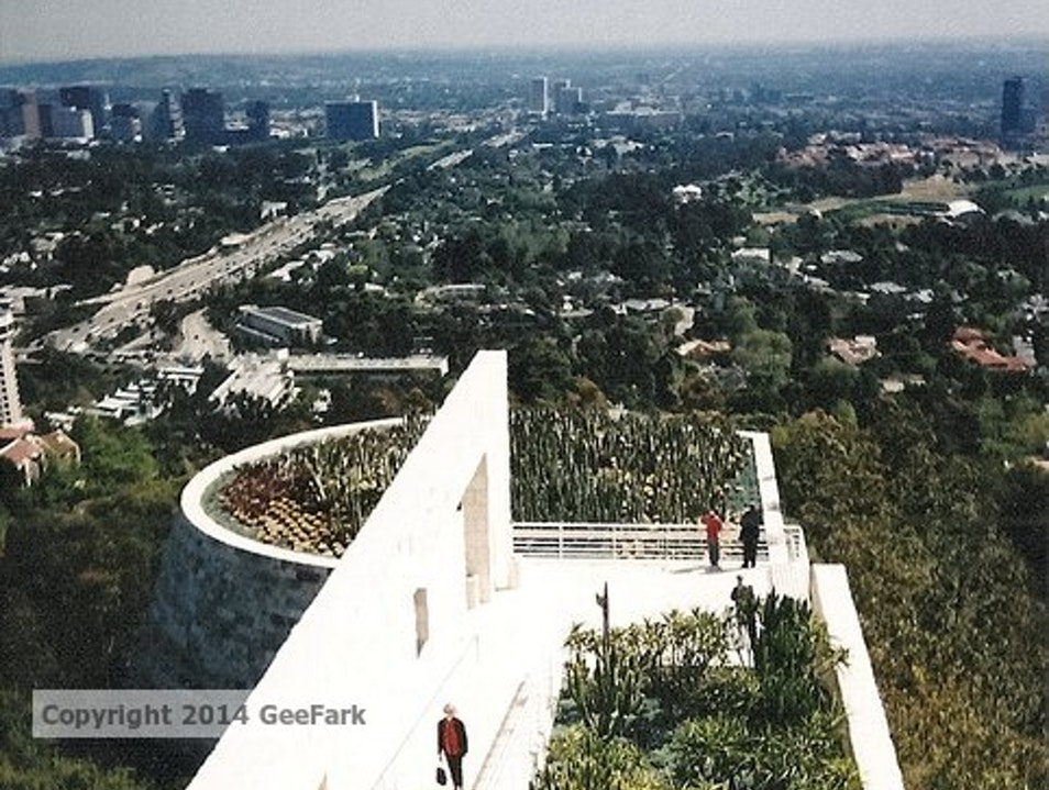 The Getty Center:  Deep well of culture and art
