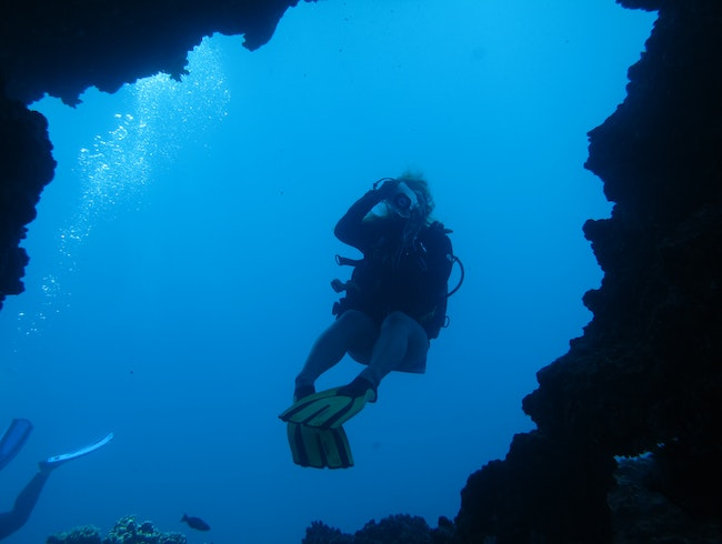Scuba Diving at First Cathedrals