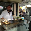 Fish Sandwich Cart Istanbul  Turkey