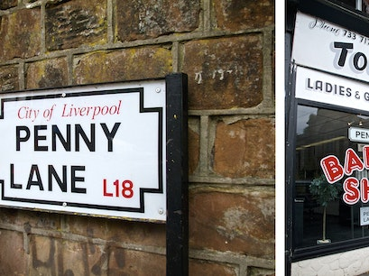 Penny Lane Liverpool  United Kingdom