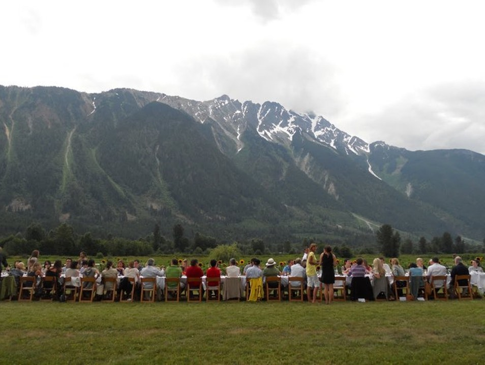 BC Farm Table Dinner Pemberton  Canada