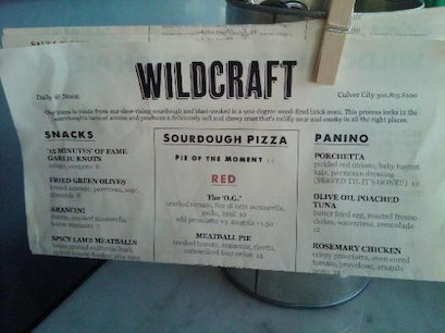 WildCraft Sourdough Pizza Culver City California United States