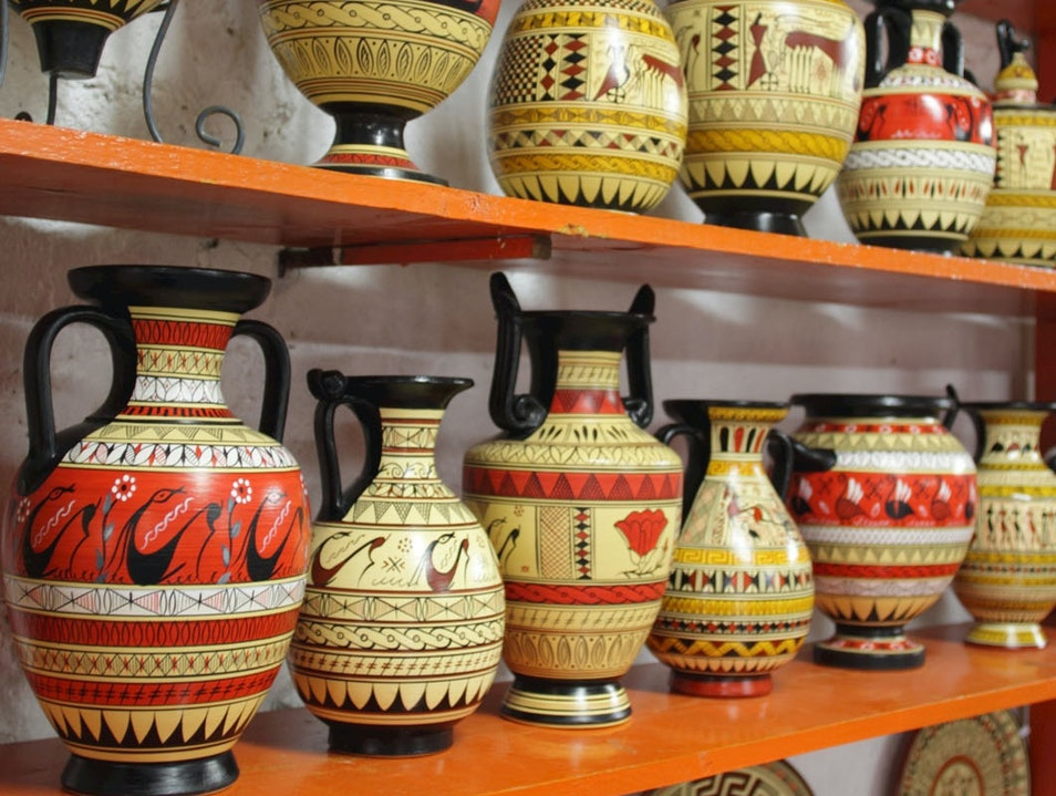 Ibiscus Ceramics Rhodes  Greece