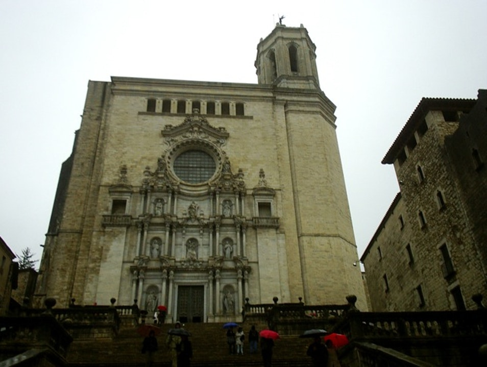 Take in centuries of architecture at Girona's Cathedral Girona  Spain