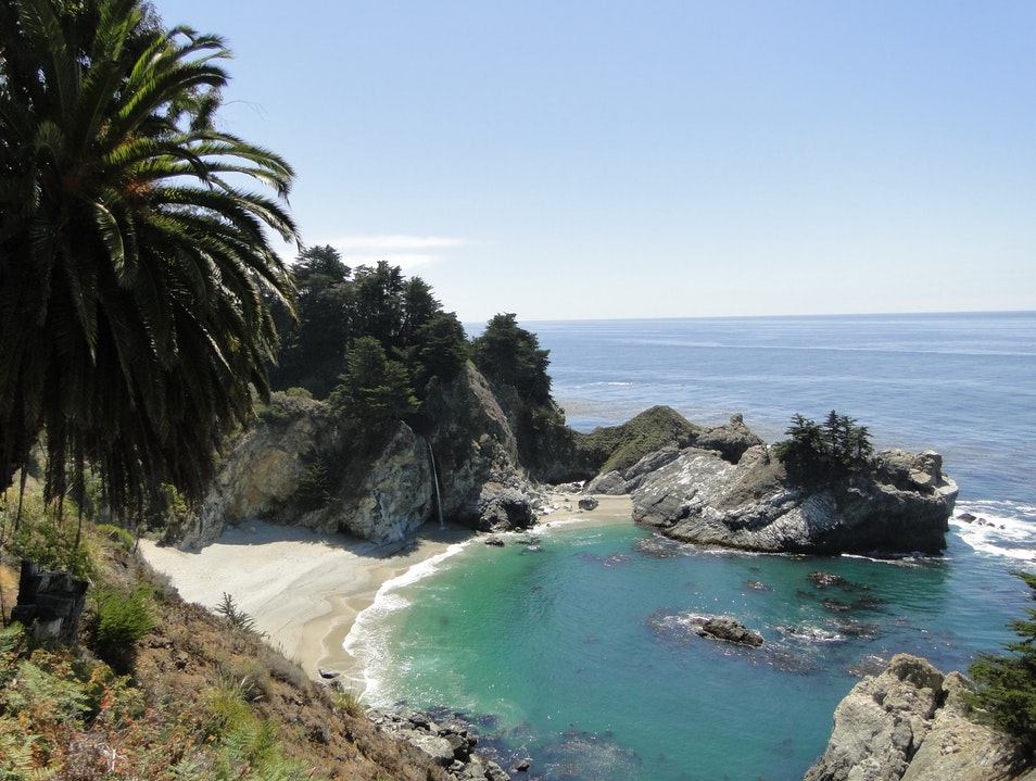 A Caribbean California Coastline Big Sur California United States