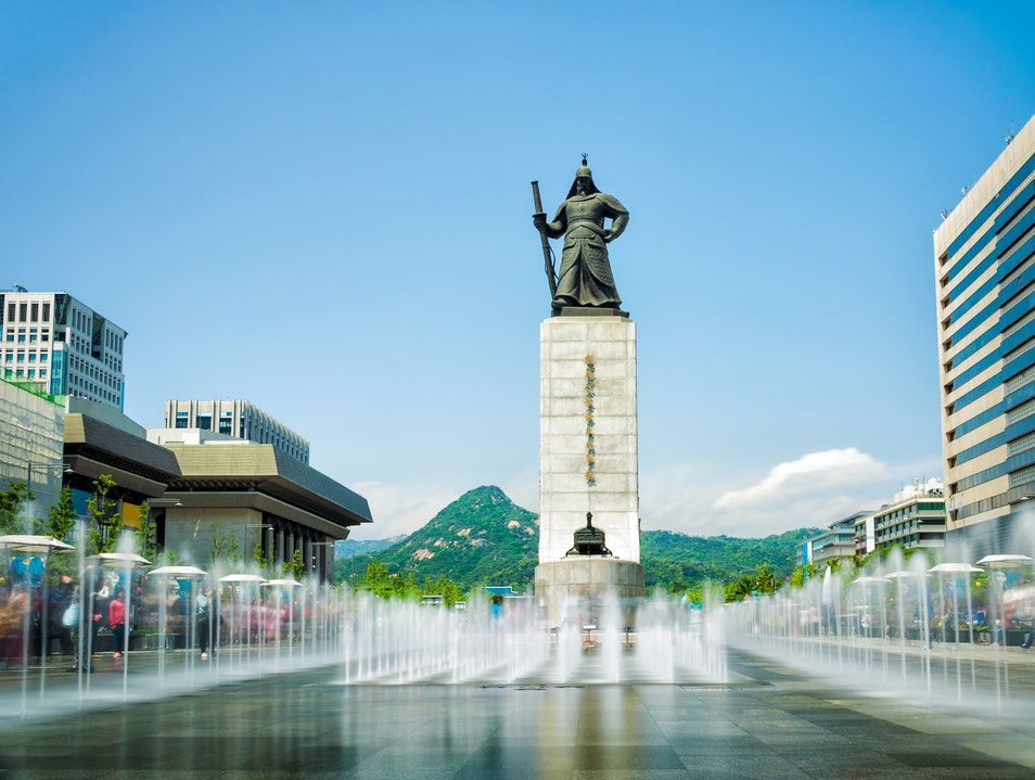 Admiral Yi Sun-sin Seoul  South Korea