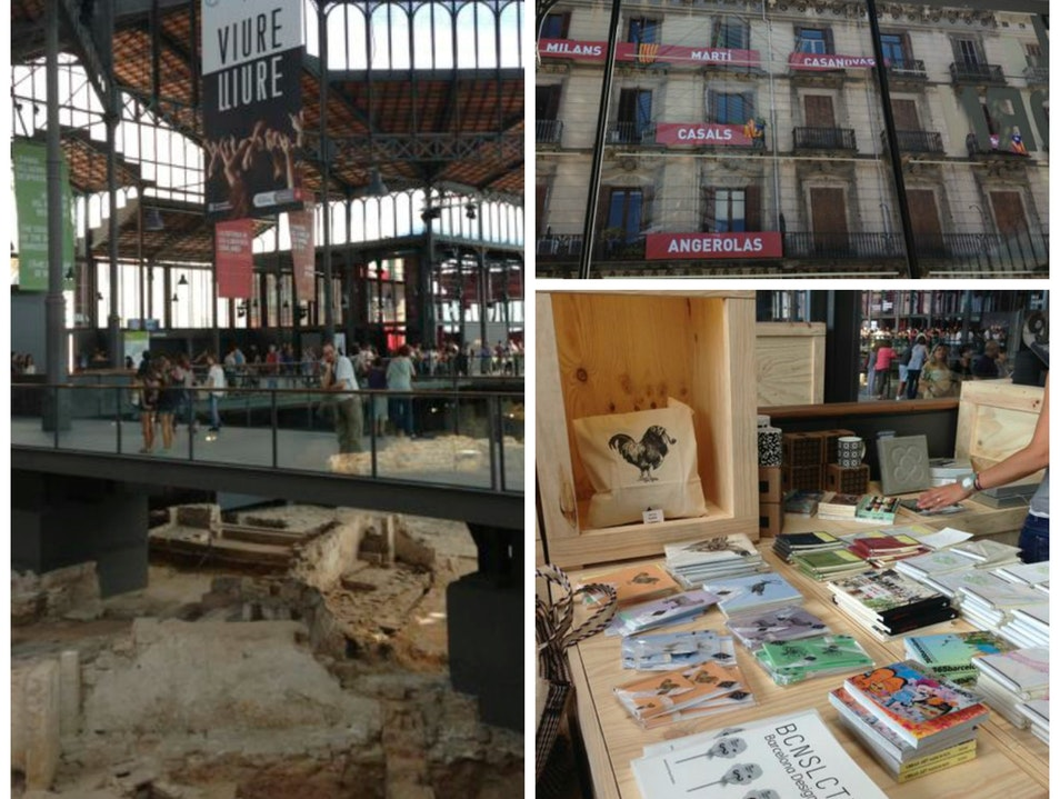 Explore 3 centuries of Barcelona history underneath a 19th century marketplace Barcelona  Spain