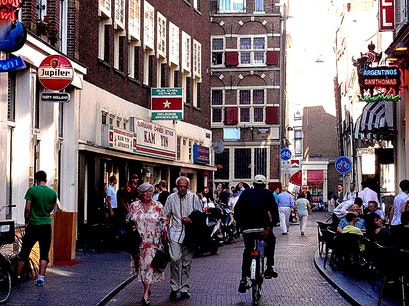 Warmoesstraat Amsterdam  The Netherlands