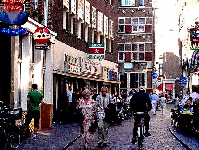 An Evening on Warmoesstraat