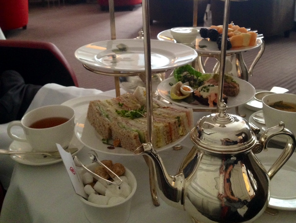 High Tea at Brown's Hotel  London  United Kingdom
