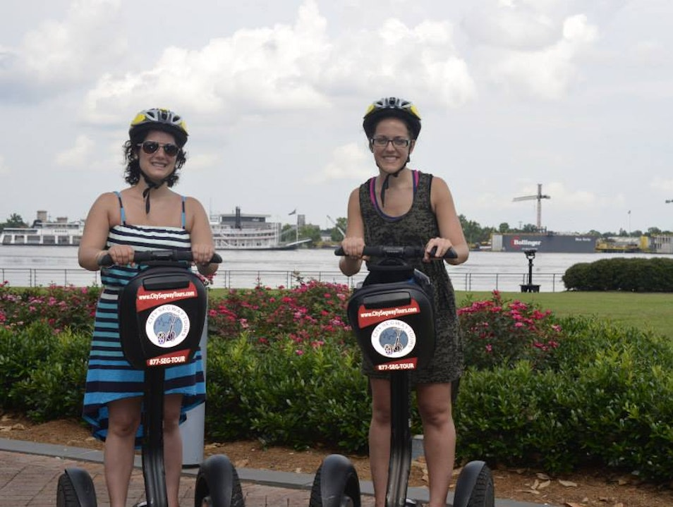 Segwaying Around New Orleans New Orleans Louisiana United States