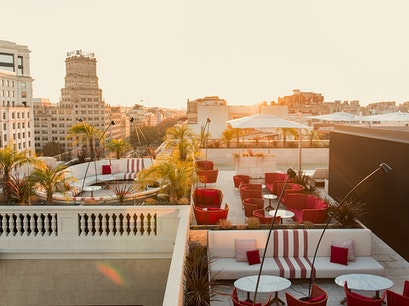 Azimuth Rooftop Bar Barcelona  Spain