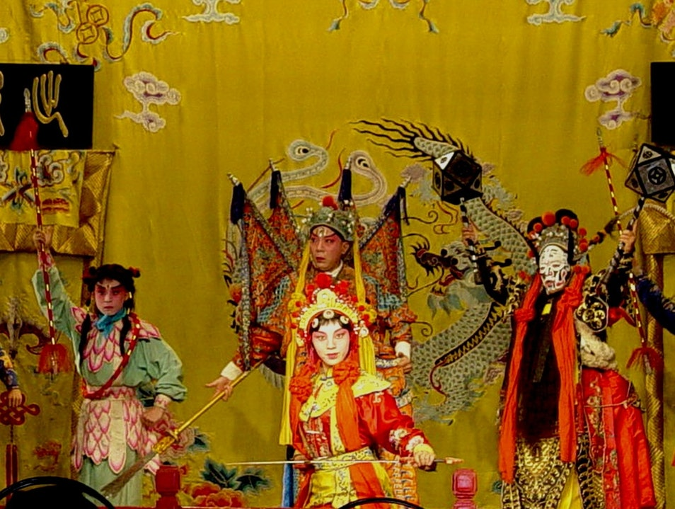 Peking Opera in Zhujiajiao Shanghai  China