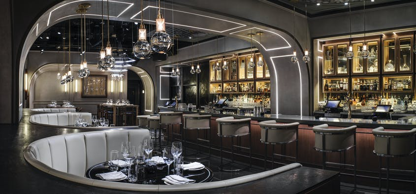 Elevate your dining experience at Rose. Rabbit. Lie., the hotel's supper club with a modern twist.