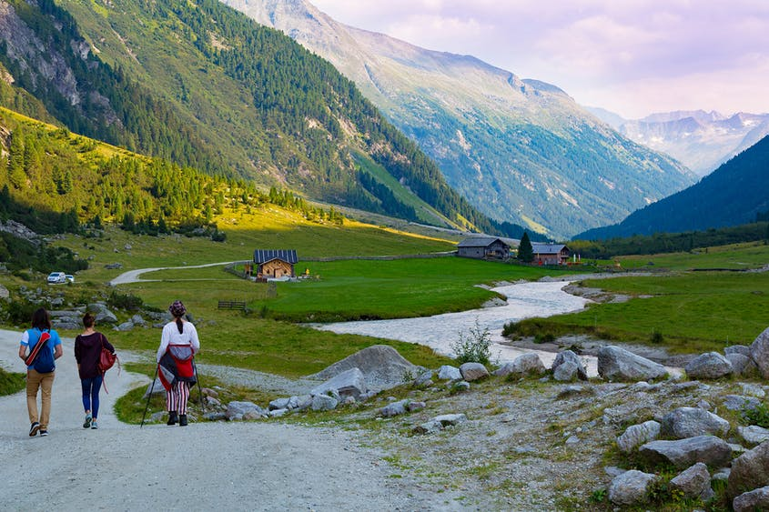 Nationalpark Hohe Tauern is comfortably the largest of Austria's seven national parks.