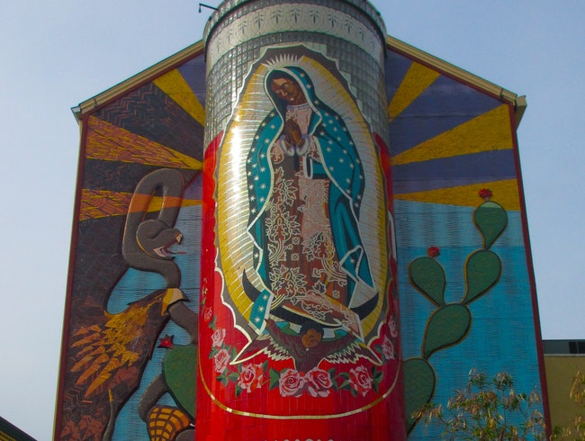 La Veladora of Our Lady Guadalupe, West Side San Antonio