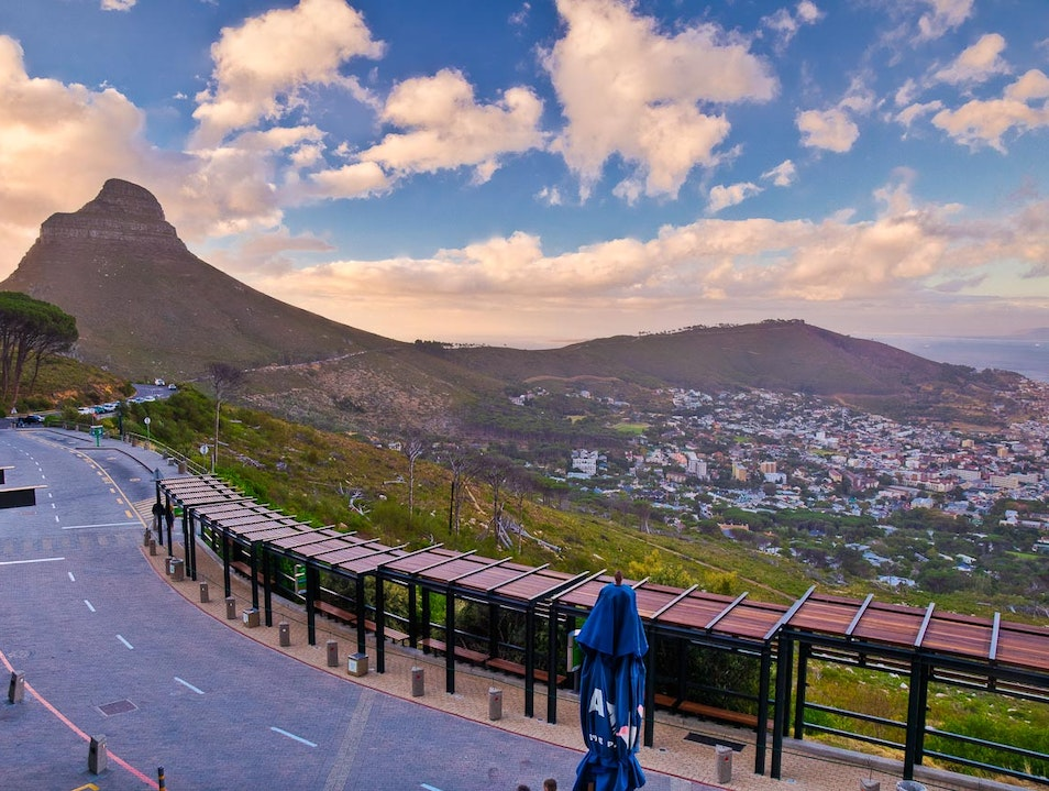 From the Cableway Cape Town  South Africa
