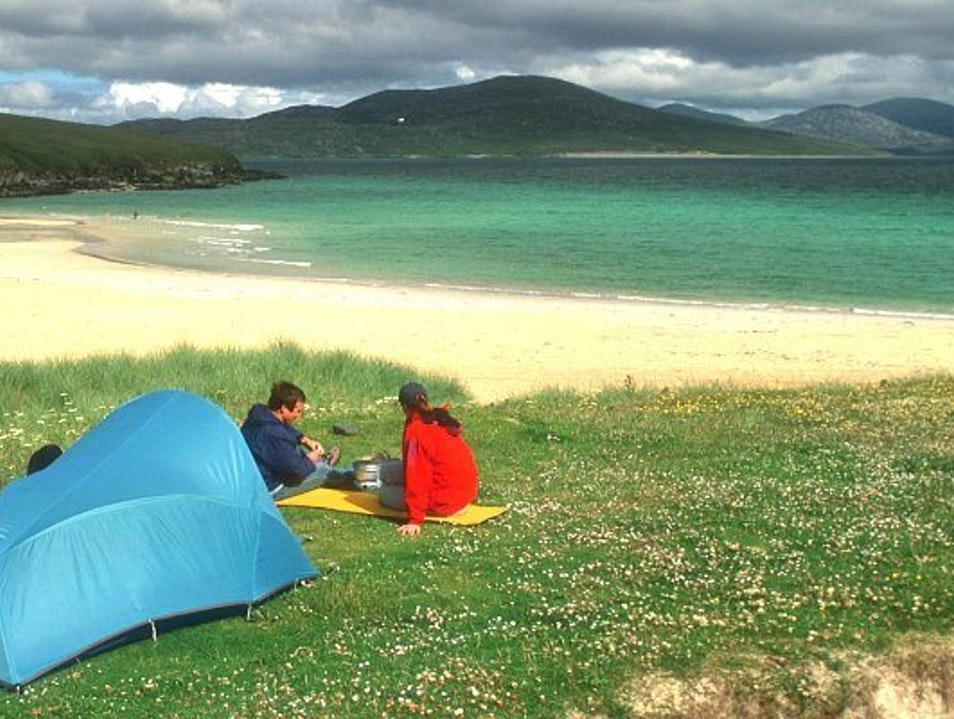 Camping in The Isle of Arran Brodick  United Kingdom