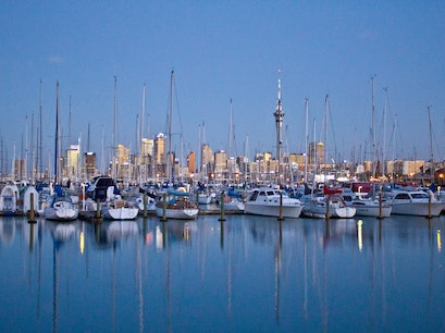 Westhaven Marina  Auckland  New Zealand