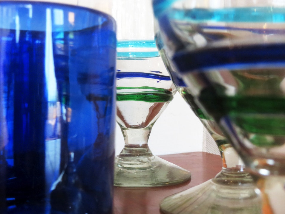 Hand-Blown Mexican Glass for a Song
