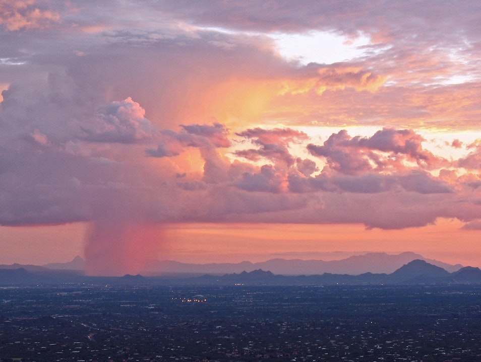 Isolated Monsoon Storm