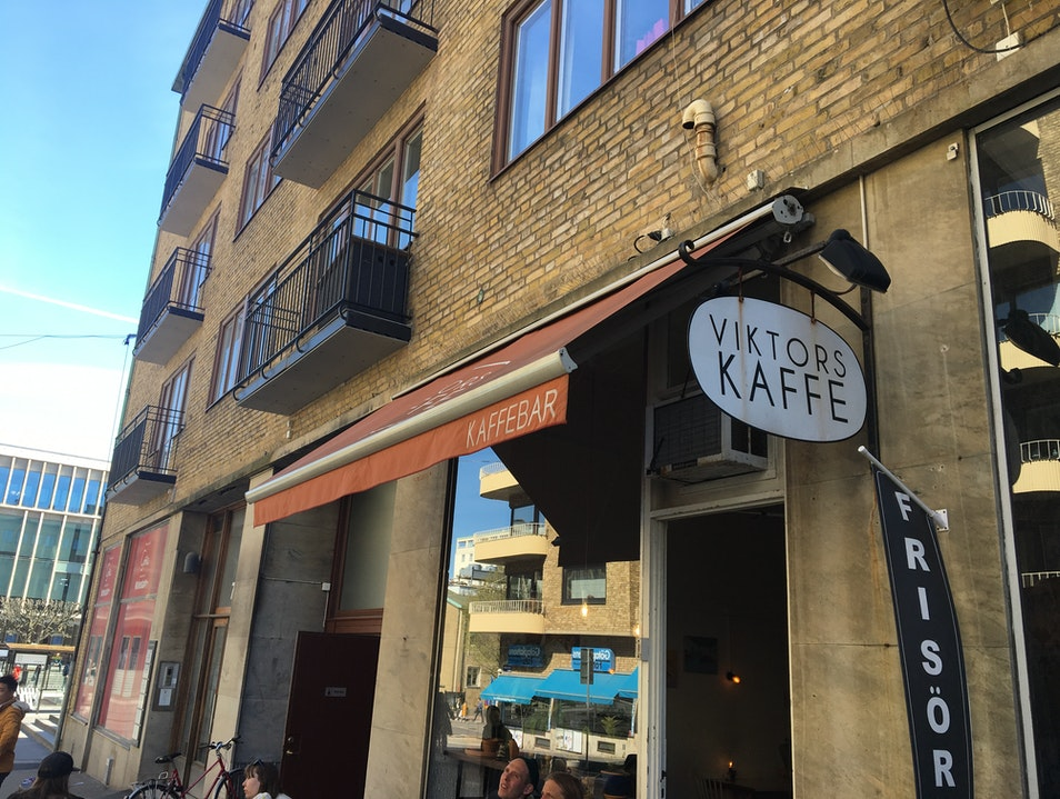 Neighborhood Coffee Shop Gothenburg  Sweden