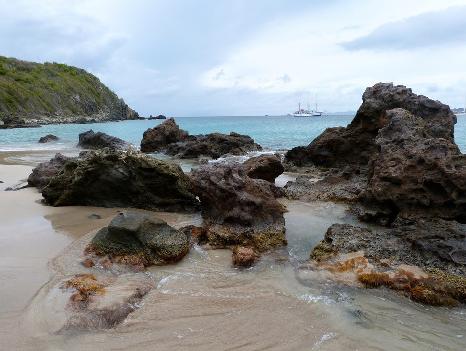 Surf, Swim, and Sightsee at Lorient Beach, St. Barths