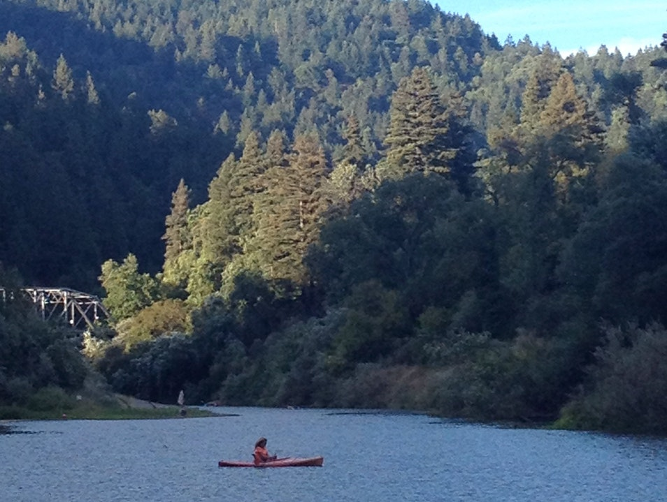 Beautiful Swimming Hole on Russian River