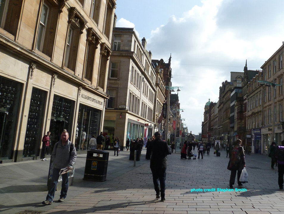 Glasgow's Style Mile Glasgow  United Kingdom