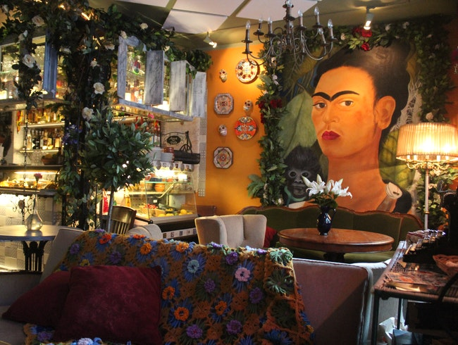 Frida Kahlo inspired bar in Helsinki