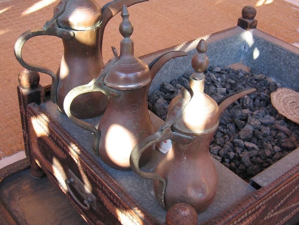 Buy a Bedouin Brass or Copper Coffeepot Dubai  United Arab Emirates