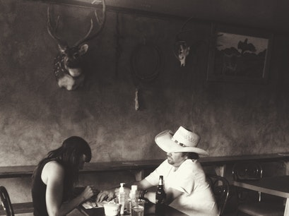 Lost Horse Saloon Marfa Texas United States