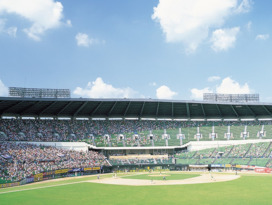 Jamsil Baseball Stadium Seoul  South Korea