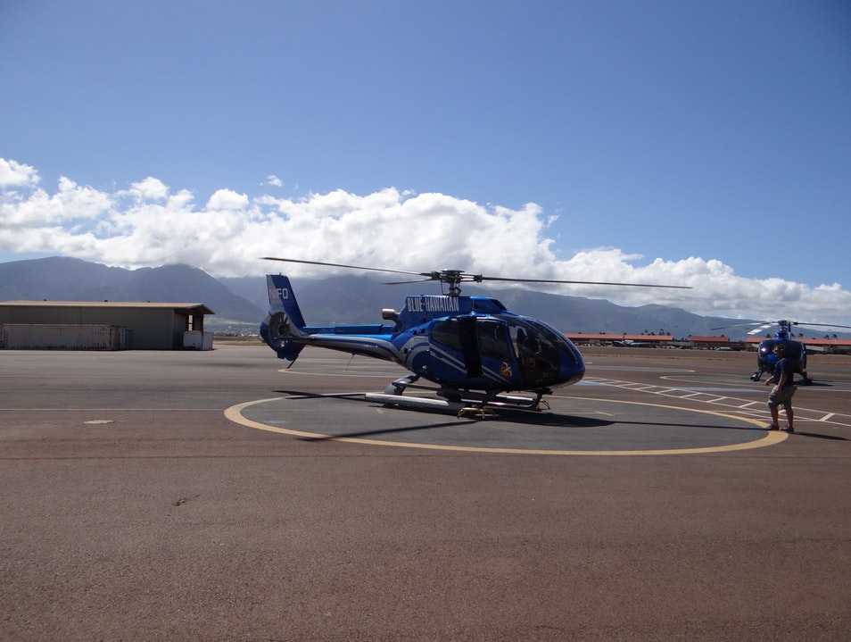 Flying High Above Maui