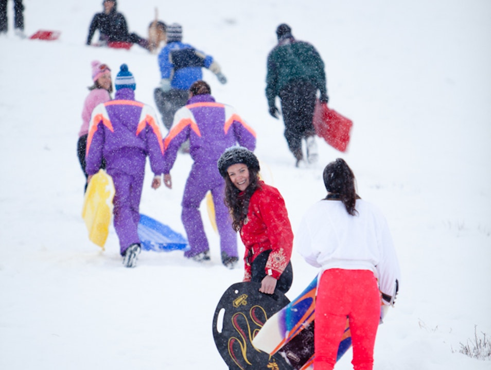 Grab Your Sled! Sun Valley Idaho United States