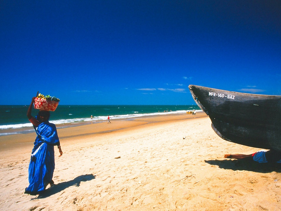 """""""Paradise"""" is a Relative Term Candolim  India"""