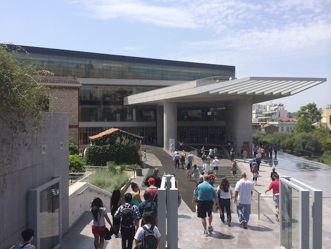 "The ""New"" Acropolis Museum"