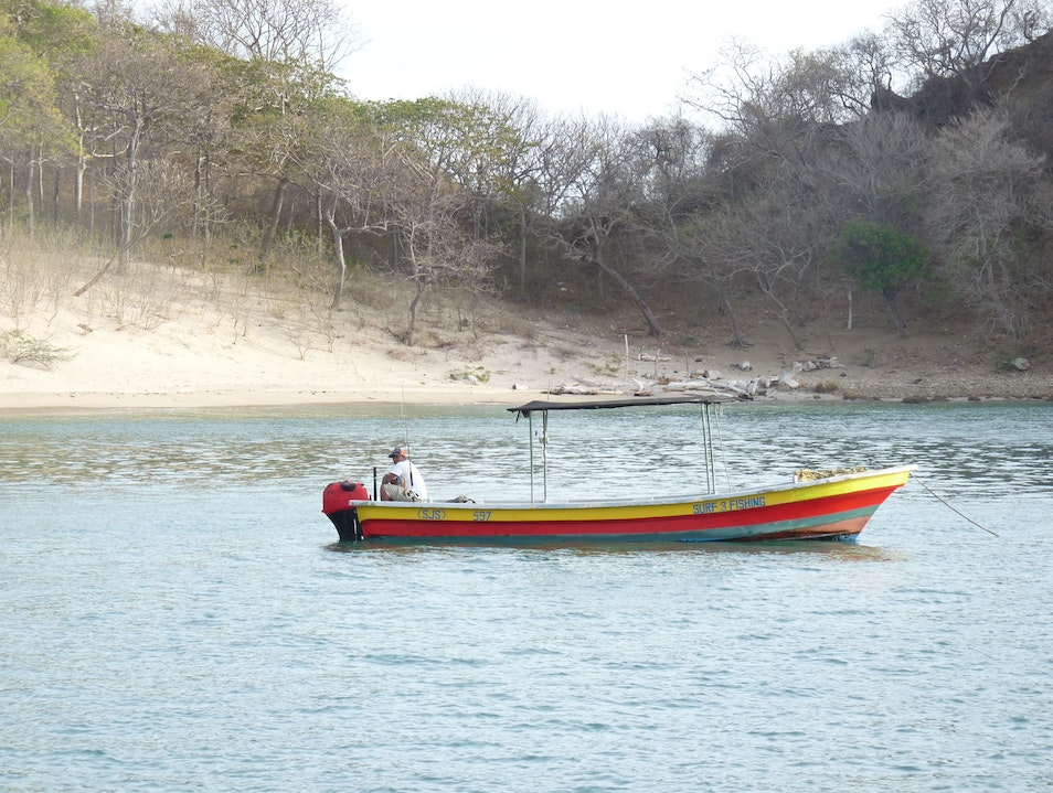 Sailing excursion in Nicaragua