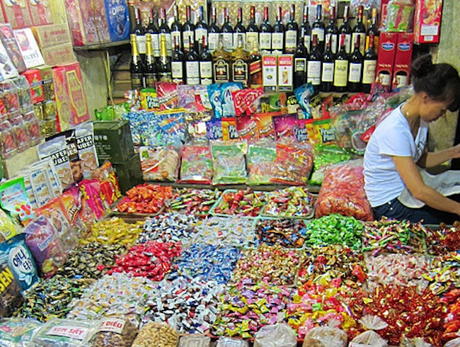 Liquor, Candy, Nuts...Ha Noi