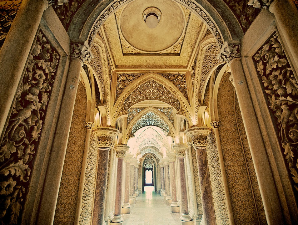 Beautiful Palace and Gardens without the Crowds