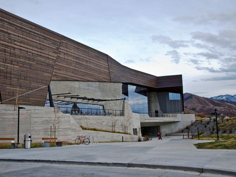 The Modern Historical Museum on a Mountainside Salt Lake City Utah United States