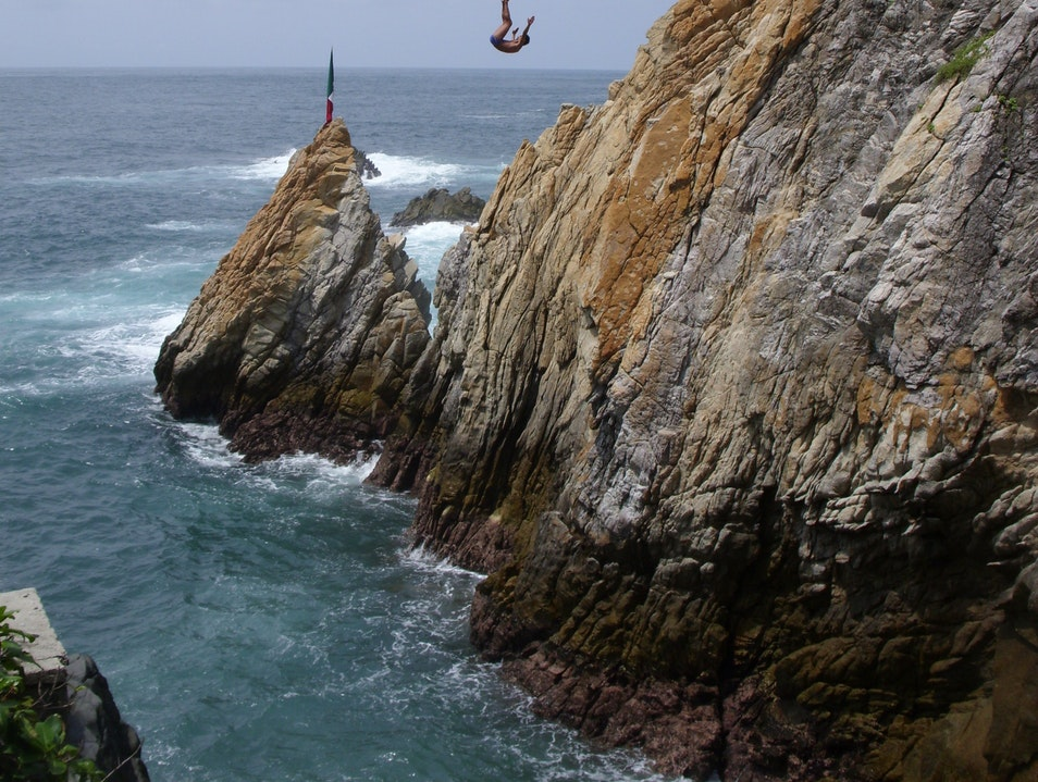 Cliff Divers Acapulco  Mexico