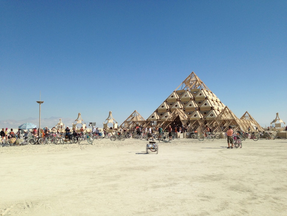 Burning Man-The Temple Black Rock City Nevada United States