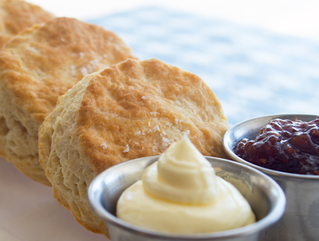 Southern Style Breakfast at Napa Valley Biscuits