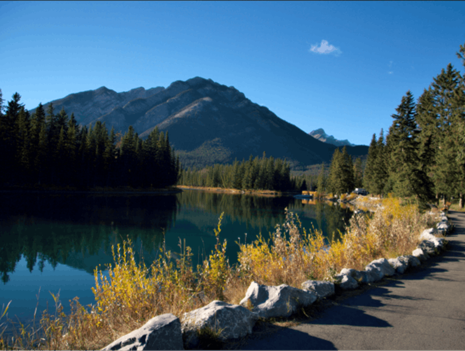 The Great Outdoors in Banff Banff  Canada